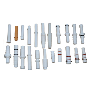 Powder Injector Insert Sleeve, Powder Pump Venturi Parts